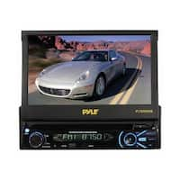 "Pyle 7"" Single Din DVD Receiver Bluetooth"