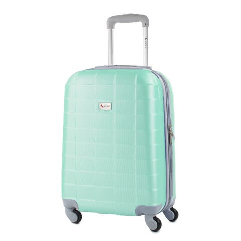 AMKA Palette 20-inch Carry-On Expandable Spinner Upright Suitcase