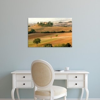 Easy Art Prints Adam Jones's 'Belvedere House At Sunrise' Premium Canvas Art