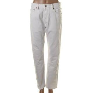 Levi Strauss & Co. Womens Denim Button Fly Straight Leg Jeans - 32/34