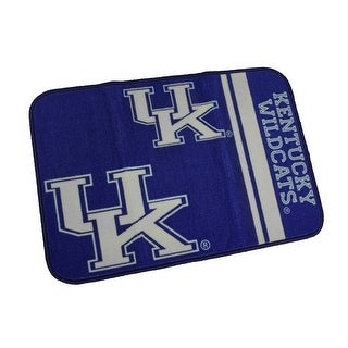 University of Kentucky Wildcats 20 by 30 Inch Tufted Non-Skid Bath Rug - Blue