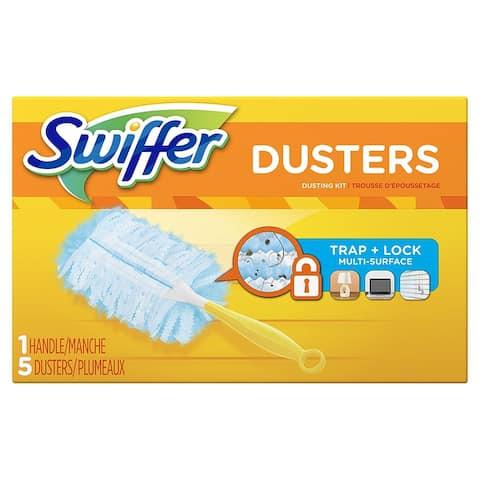 Swiffer 11804 Duster Starter Kit, 5-Count