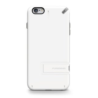 PureGear Slim Shell with Kickstand for iPhone 6s Plus/6 Plus - White
