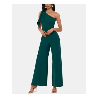 Link to BETSY & ADAM Womens Green Sleeveless Wide Leg Jumpsuit  Size 8 Similar Items in Outfits
