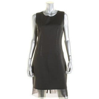 Elie Tahari Womens Matte Jersey Sleeveless Casual Dress - 10