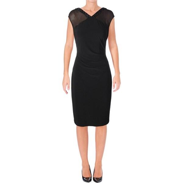 Lauren Ralph Lauren Womens Party Dress Sleeveless Mini