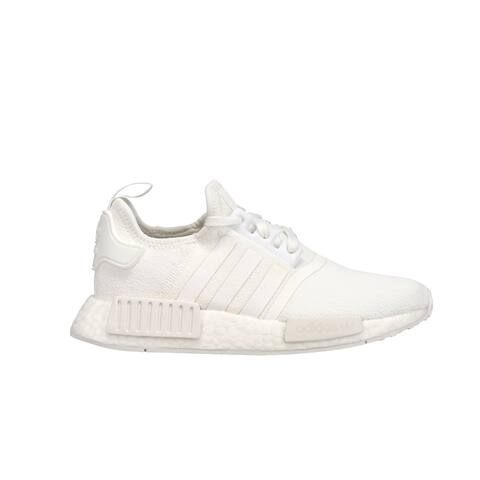 adidas Nmd_R1 Lace Up Kids Boys Sneakers Shoes Casual - White