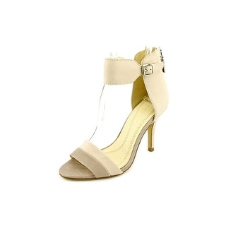 Tahari Laura Women Open-Toe Leather Heels