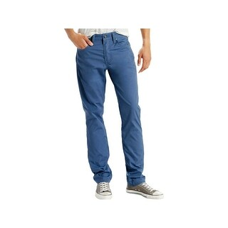 Levi's Mens 511 Classic Straight Jeans Slim Fit Colored - 33/34