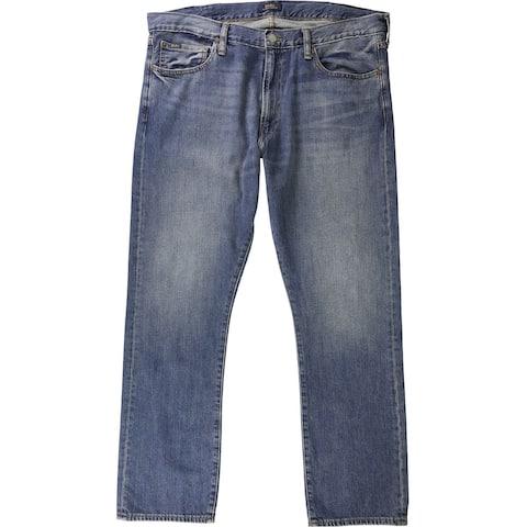 Ralph Lauren Mens Varick Straight Slim Fit Jeans