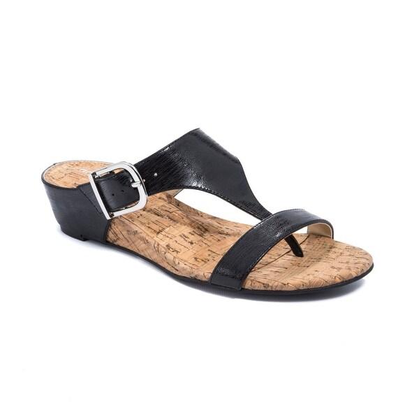 Andrew Geller Iwin Women's Sandals & Flip Flops Black