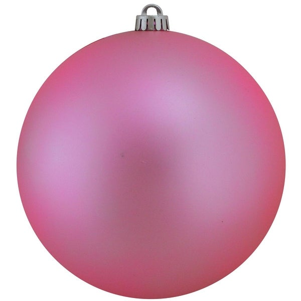 """Shatterproof Matte Orchid Pink UV Resistant Commercial Christmas Ball Ornament 8"""" (200mm)"""