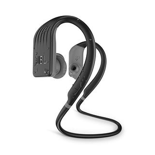 JBL Endurance Jump Waterproof Wireless Sport In-Ear Headphones with One-Touch Remote - Black - 7.3 x 4.9 x 2