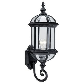 "DVI Lighting OCA140801 1 Light 8"" Wide Outdoor Wall Sconce from the Hexagon Collection"