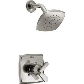 Delta T17264  Ashlyn Monitor 17 Series Dual Function Pressure Balanced Shower Trim Package with Touch Clean Shower Head and