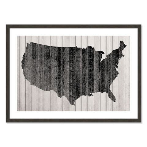 America - 36'' x 26''