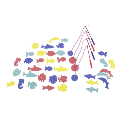 Edushape Fish-N-Fun Game, Set of 56