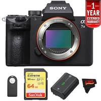 Sony Alpha a7 III (Body Only) Intl Model Starters Kit