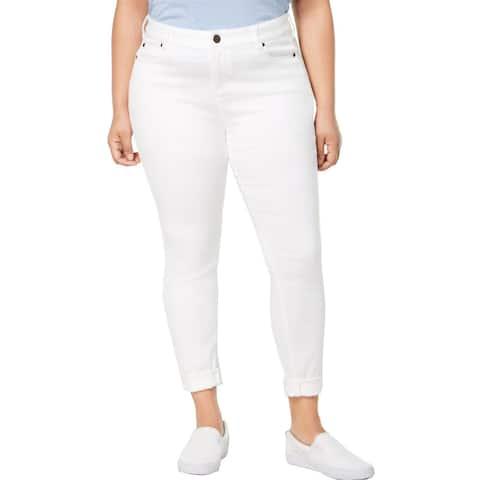 Celebrity Pink Womens Skinny Jeans Denim Mid-Rise