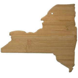 Totally Bamboo New York State Bamboo Serving and Cutting Board