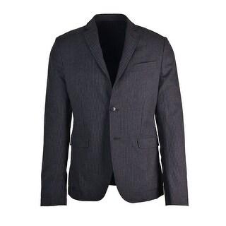 Dolce&Gabbana Mens Grey Cotton Pin Striped Suit