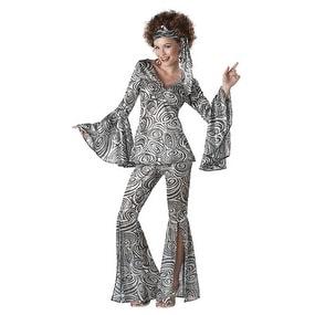 baf86457b4 Foxy Lady 70's Disco Adult Womens Halloween Costume