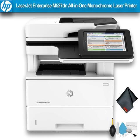 HP LaserJet Enterprise M527dn All-in-One Monochrome Laser Printer Bundle