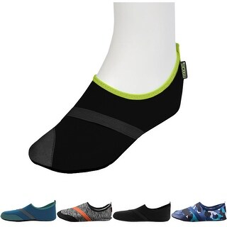 FitKicks Men's Breathable Ergonomic Comfort Non-Slip Sole Active Footwear