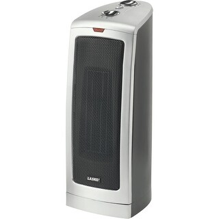 Lasko 5367M Oscillating Ceramic Tower Heater - gray