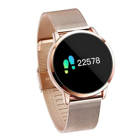 Diggro Q8 Smart Watch OLED Color Screen Heart Rate Monitor
