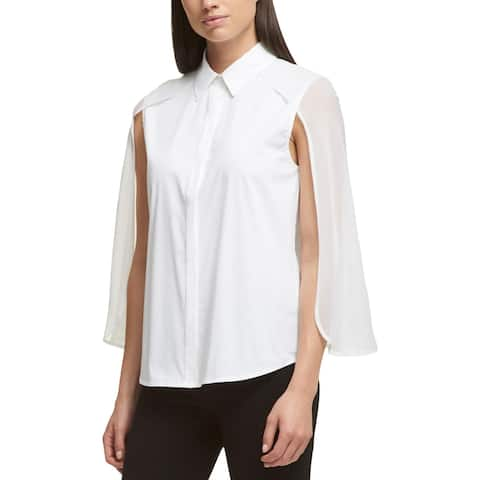 e0f5f237 DKNY Tops | Find Great Women's Clothing Deals Shopping at Overstock