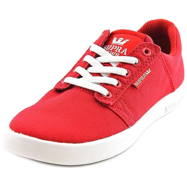 Supra Kids Westway Round Toe Canvas Sneakers