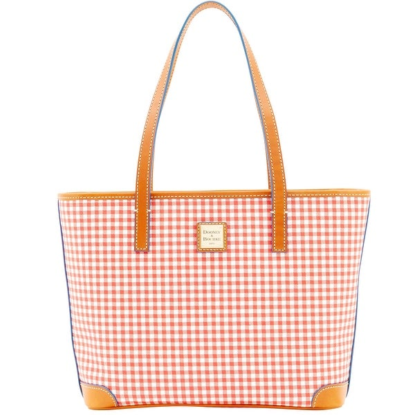 Dooney & Bourke Small Gingham Charleston (Introduced by Dooney & Bourke at $228 in Jan 2016) - Red
