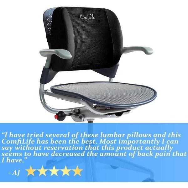 lumbar support back pillow office chair