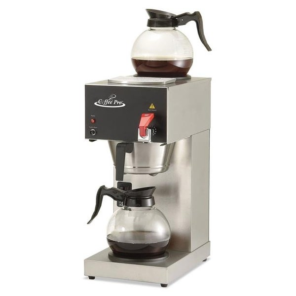 Shop 9 X 1605 X 19 Two Burner Institutional Coffee Maker 12 Cup