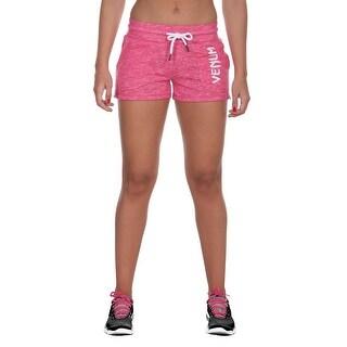 Venum Women's Classic Drawstring Active Shorts - Pink