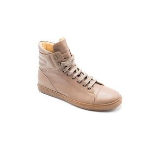 Brunello Cucinelli Women's Brown Leather High Top Sneakers Size 41 / 11