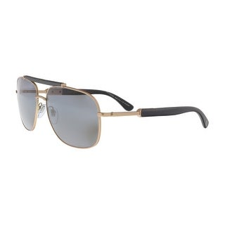 Bulgari BV5040K 200681 Matte Rose Gold Rectangular Sunglasses - no size