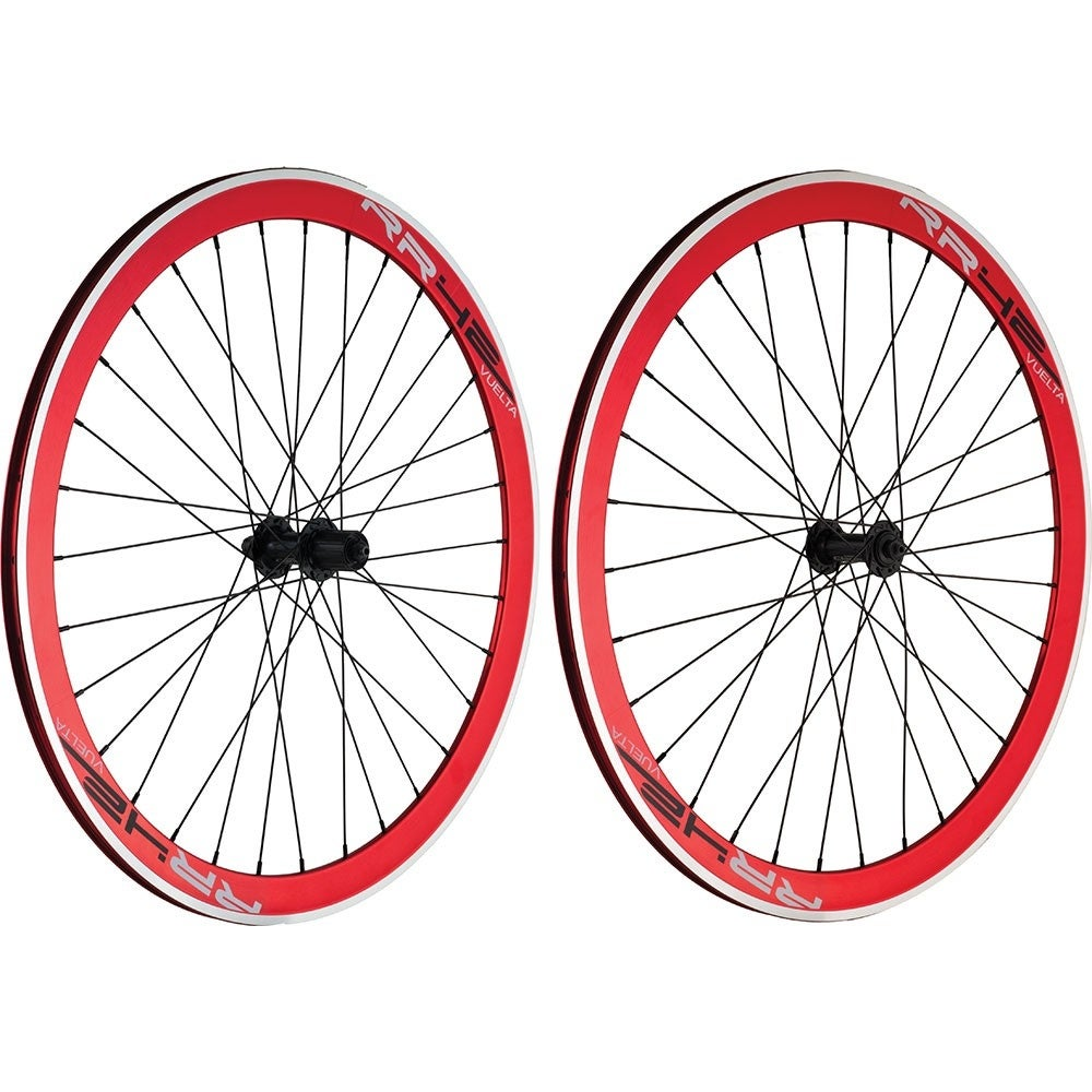 Wheelset 700 track sealed vuelta rr42 red action (Red) -  Overstock