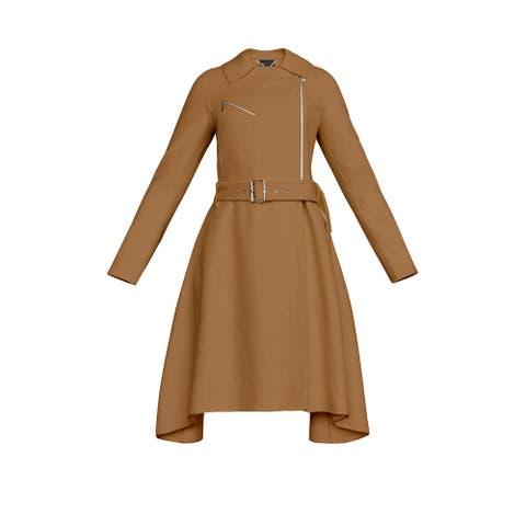 BCBGMaxazria Camel Ryan Coat (XS)
