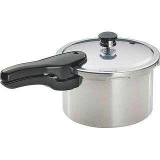 Presto 01241 Pressure Cooker, Aluminum, 4 Quarts