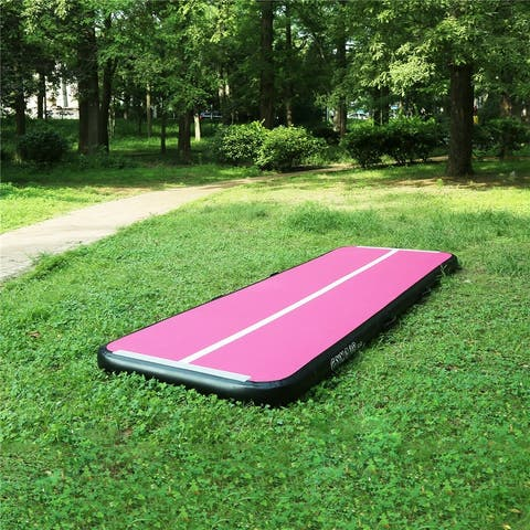 16ft Inflatable Gymnastics Air Track Tumbling Mat for Home Use