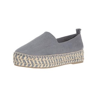 Steven By Steve Madden Womens Pikko Loafers Faux Suede Casual