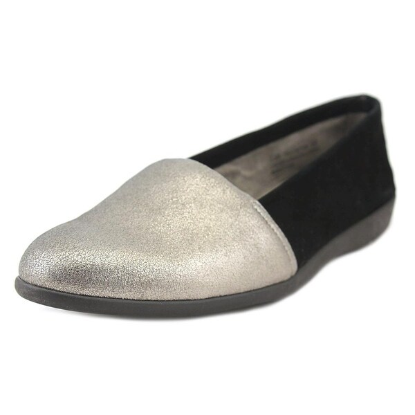 Aerosoles Trend Setter W Round Toe Leather Loafer
