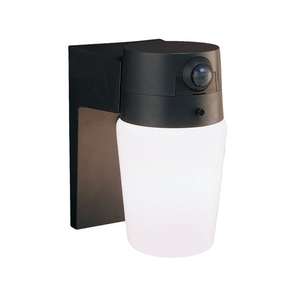 Heath Zenith HZ-5610 1-Light 110 Degree Motion Activated Outdoor Wall Sconce - n/a