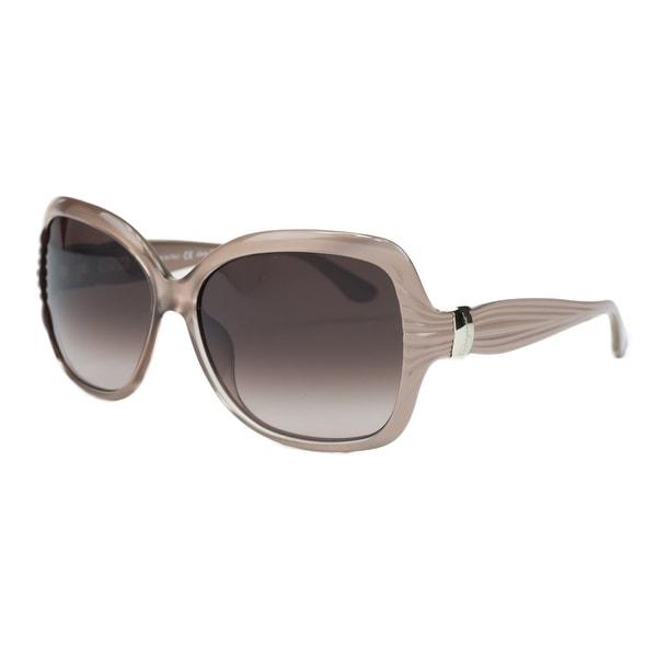 Salvatore Ferragamo SF 649S/663 Pearl Rose Oversized Square Sunglasses - pearl rose - 60-15-135