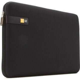 """Case Logic LAPS-117black Case Logic LAPS-117 Carrying Case (Sleeve) for 17.3"" Notebook - Black - Impact Resistant Interior"