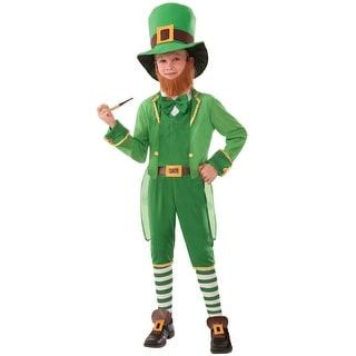 Forum Novelties Lil Leprechaun Child Costume (M) - Green - Medium