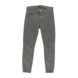 Hudson Womens Nico Denim Colored Skinny Jeans - 25