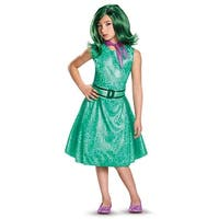 Girls Inside Out Classic Disgust Costume